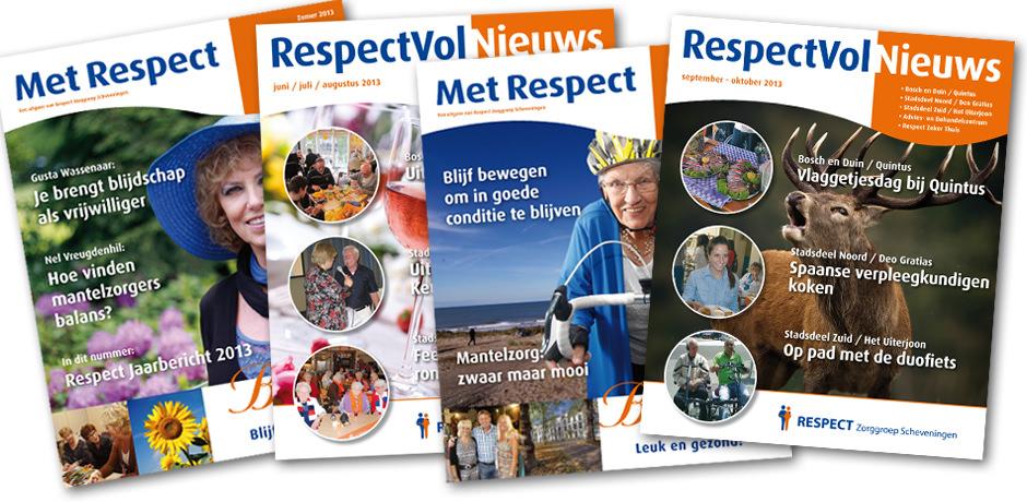 Magazines Respect Zorggroep Scheveningen